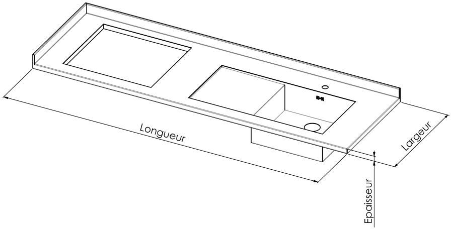cuisine sur mesure en inox plans de travail en inox credence ilot inox sur mesure. Black Bedroom Furniture Sets. Home Design Ideas