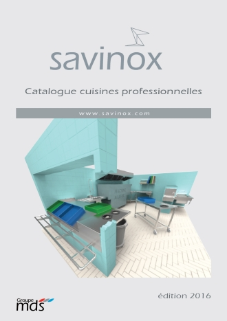 Catalogue Savinox Professionnel 2016
